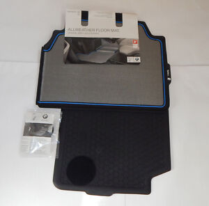New Genuine BMW i3 IO1 Set Of Rear All-Weather Floor Mats 51472353819