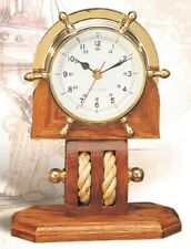 Ship's Wheel / Pulley Desk Clock
