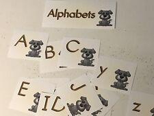 Puppy Themed Alphabet Cards - 53 Laminated Card Set- Pre-school- Kindergarten