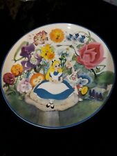 Walt Disney'S Alice In Wonderland 45th Anniversary Collectors Plate