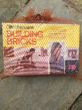 Vintage 1970's Beech Wood Building Blocks Mothercare Never Opened X30 Pieces