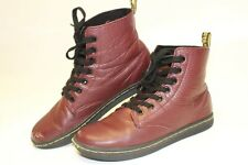Dr. Martens Womens Size 6 37 Leyton Leather Short Lace Up Flat Boots