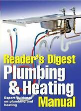 Plumbing and Heating  Manual - Readers Digest -  WH4 HB809 : NEW BOOK