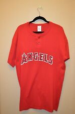 Majestic Authentic Los Angeles Anaheim Angels Baseball Jersey Mens  XL