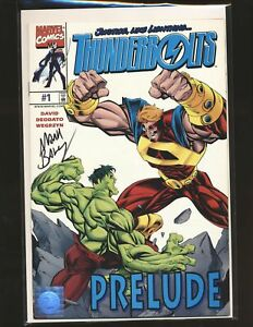 Thunderbolts Preview # 1 - Signed by Baglet with COA NM- Cond.