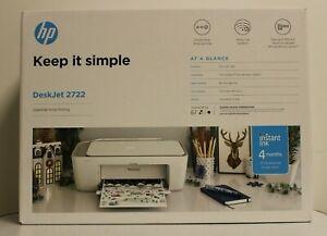 HP DeskJet 2722 All-in-One Wireless Color Inkjet Printer – Fast Shipping IN HAND