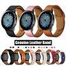 Echtem Leder Armband  für Samsung Galaxy Watch 42 46mm Active 2  Uhrenarmband