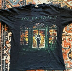 IN FLAMES WHORACLE 2006 LARGE SHIRT AT THE GATES ARCH ENEMY DARK TRANQUILITY