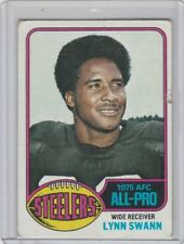 1976 TOPPS LYNN SWANN CARD #140 STEELERS POOR CONDITION