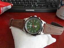Timex Expedition Indiglo WR 50M Mens Watch w/ 18mm Genuine Leather Band!
