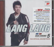 Lang Lang Gran Turismo 5 The Real Driving Simulator Official Soundtrack CD NEU