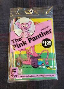 Pink Panther # 65-67 Rare Whitman Sealed Polybag Multi-3-Pre-Pack 1979 HI-GRADE