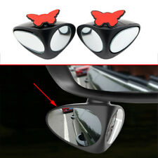 Accessories For Car Adjustable 360° Blind Spot Mirror Wide Angle Rear View Lens