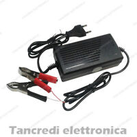 Caricabatterie al piombo 24V 2A 2000mAh lead acid battery charger alligator clip