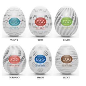 Tenga Egg 6 Pack Standard Strokers Variety Pack Male Masturbators