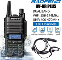 BAOFENG UV-9R Plus Walkie Talkie VHF UHF Dual Band Handheld Two Way Radio