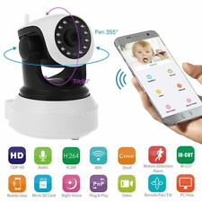 Wireless 720P Pan Tilt Night Vision Network CCTV IP Camera Security WIFI Webcam