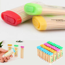 Dental Tooth Pick Bamboo Toothpicks With Portable Case