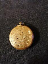Ancienne montre à gousset or cylindre 8 rubis, Pateck Genève