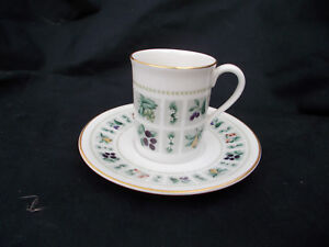 Royal Doulton TAPESTRY. Coffee Cup and Saucer. Demitasse