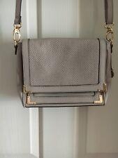 Tilkah soft leather beige crossbody-shoulder-clutch bag with gold hardware