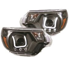Anzo 111290 Projector Headlight Set 2pc w/U-Bar For 12-15 Toyota Tacoma NEW