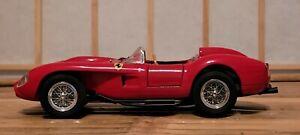 Danbury Mint 1958 Ferrari 250 TESTA ROSSA Convertible 1:24 Scale Die Cast