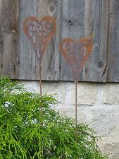 Edelrost Stern Madera Beetstecker Dekoration Metall Rost Deko Garten Metall