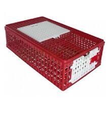 gabbia per trasporto di polli galline quaglie anatre conigli volatili 95x57x30h