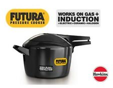 Hawkins Futura Pressure Cooker 3 Liter For 3-5 Person Works on Induction Gas