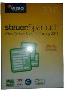 Wiso SteuerSparbuch2016 (Box) (1) - Vollversion für Windows KW42460-16