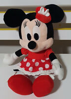 CLUB HOUSE DISNEY MINNIE MOUSE PLUSH TOY! SOFT TOY ABOUT 22CM SEATED KIDS TOY!
