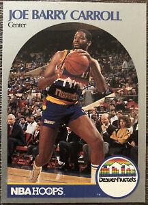 1990 NBA Hoops Trading Card - #92 Joe Barry Carroll - DENVER NUGGETS