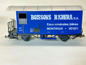 LGB 4029 Boissons Riviera Boxcar COLLECTION ITEM  - G Scale