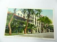 Vintage Postcard Riverside Glenwood Mission Inn The Cloister Vintage California