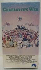 Charlotte's Web VHS 1973 1990 FULL LENGTH ANIMATED MOVIE Color New  Paramount