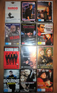 Region 4,8 titles  to choose from, New sealed, DVD fr $5 Drama,Bourne Identity
