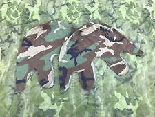 US. | USMC. | M1 Helmet Cover | PASGT-Transitional | Woodland | 1984 | REFORGER