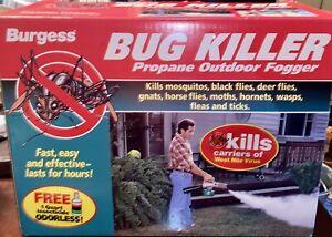 Burgess Bug Killer 1443 Propane Yard Garden Mosquito Insect Sprayer Fogger NIB