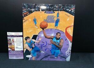 PAUL MISSLAP UTAH JAZZ NBA SIGNED 8X10 PHOTO W/JSA COA