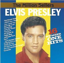ELVIS PRESLEY / THE MILLION SELLERS - 16 NUMBER ONE HITS * NEW CD * NEU *