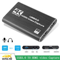 HD HDMI Game Capture Card 1080P Video Recorder for Live Broadcast Video Record