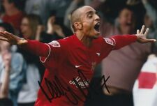 MK DONS HAND SIGNED MARK WRIGHT 6X4 PHOTO.