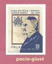ITALIA 2020  Casa Editrice Libraria Ulrico Hoepli S.p.A.  FRANCOBOLLO SINGOLO