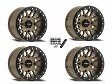 Method 406 Beadlock UTV Wheels Rims Bronze 14x8/14x10 RZR XP Turbo 1000 900 800
