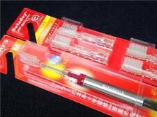 Soladey 3 Japan Toothbrush Red & 4 Replacement Medium Type Free Shipping t440