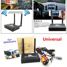 Car WiFi Display Wireless Airplay Mirror Link Box HDMI Miracast DLNA Android iOS