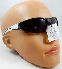 Boys Metalic Thin Plastic Secret Agent Narrow Rectangular Officer Sunglasses