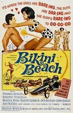 "Bikini Beach Movie Poster Replica 13x19"" Photo Print"