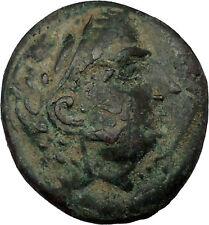 LYSIMACHEIA in THRACE 309BC Rare Hercules & Artemis Ancient Greek Coin i37911